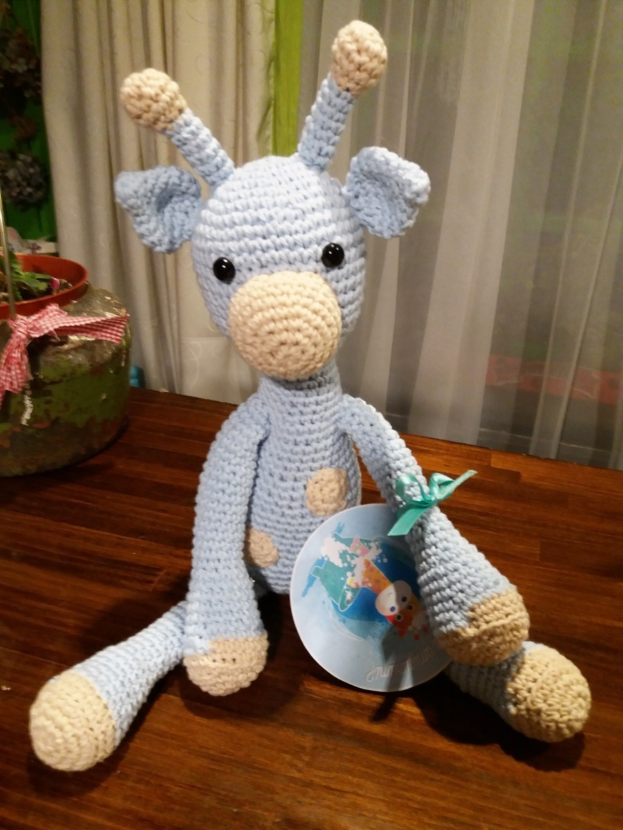 Amigurumi Crochet Pattern - Stanley the Giraffe   Jirafa amigurumi ...   1200x900