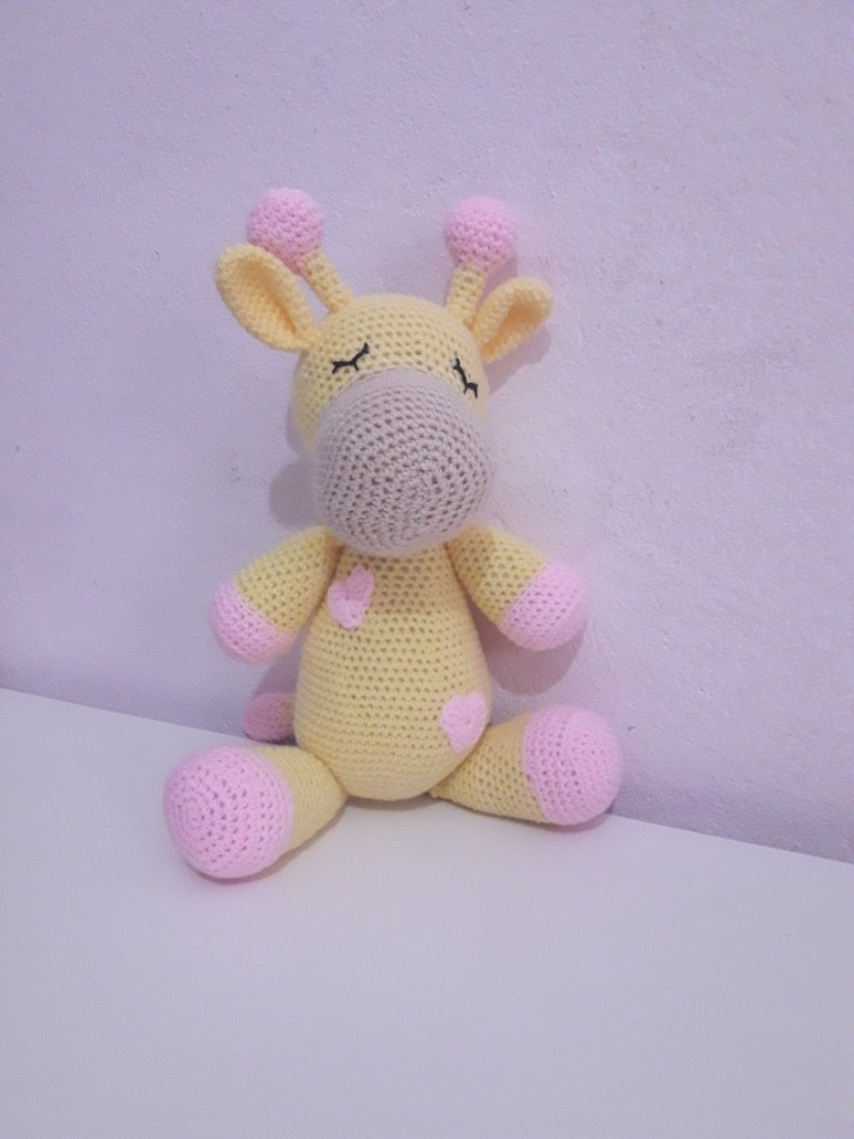 Amigurumi Crochet Pattern - Stanley the Giraffe   Jirafa amigurumi ...   1032x774