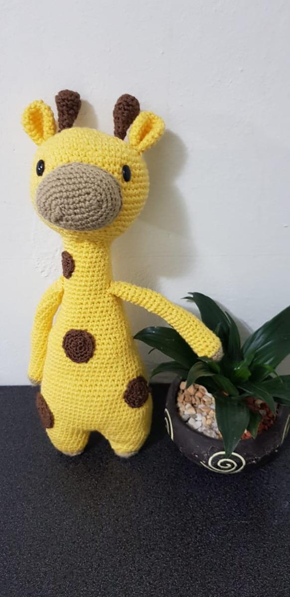 Kit Amigurumi Coleção Safari Baby Círculo - Girafa - Bazar Horizonte   1200x583