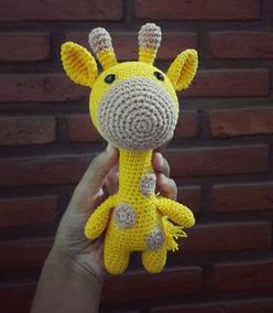 RatiTejedores - patron de jirafa bebe - Her Crochet in 2020 (mit ... | 284x248