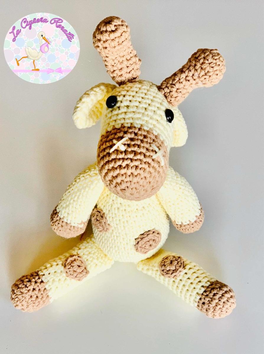 Giraffe Amigurumi Häkelanleitung von Little Bear Crochets | 1200x894