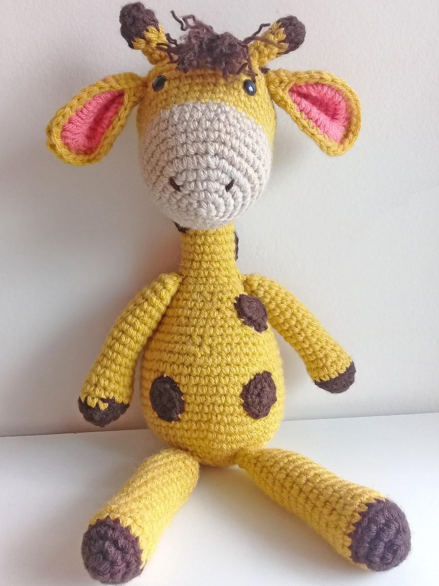 Amigurumi Crochet Pattern - Stanley the Giraffe (con imágenes ... | 1200x899