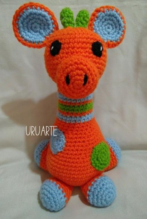 Girafa Lola Amigurumi   Elo7   765x514