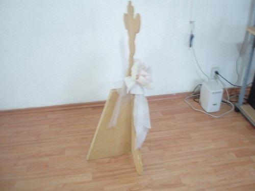 jirafa de madera para niños en su recamara