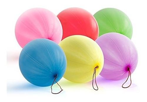 jirafa globos de ponche de neon 30 count