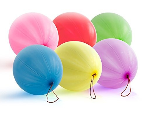 jirafa - globos de ponche de neon - (30 count)