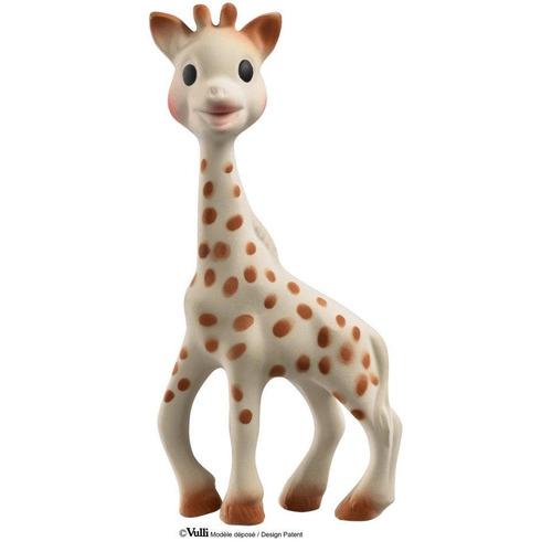 jirafa mordedor con peluche cascabel