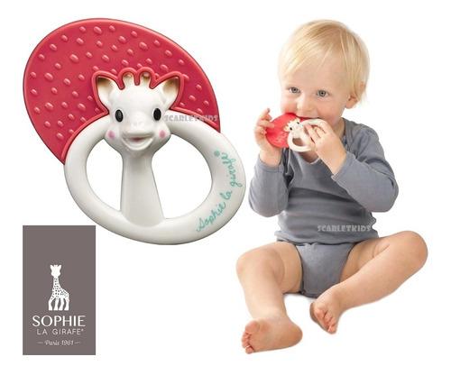 jirafa sofia mordillo bebe + sonajero mordillo orig scarlet