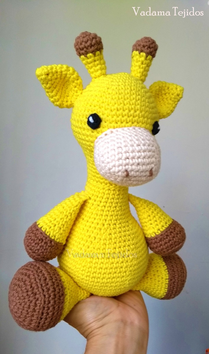 Jirafa Amigurumi ⭐️ TUTORIAL MUY FÁCIL ▷ Crochet Fácil   1200x708