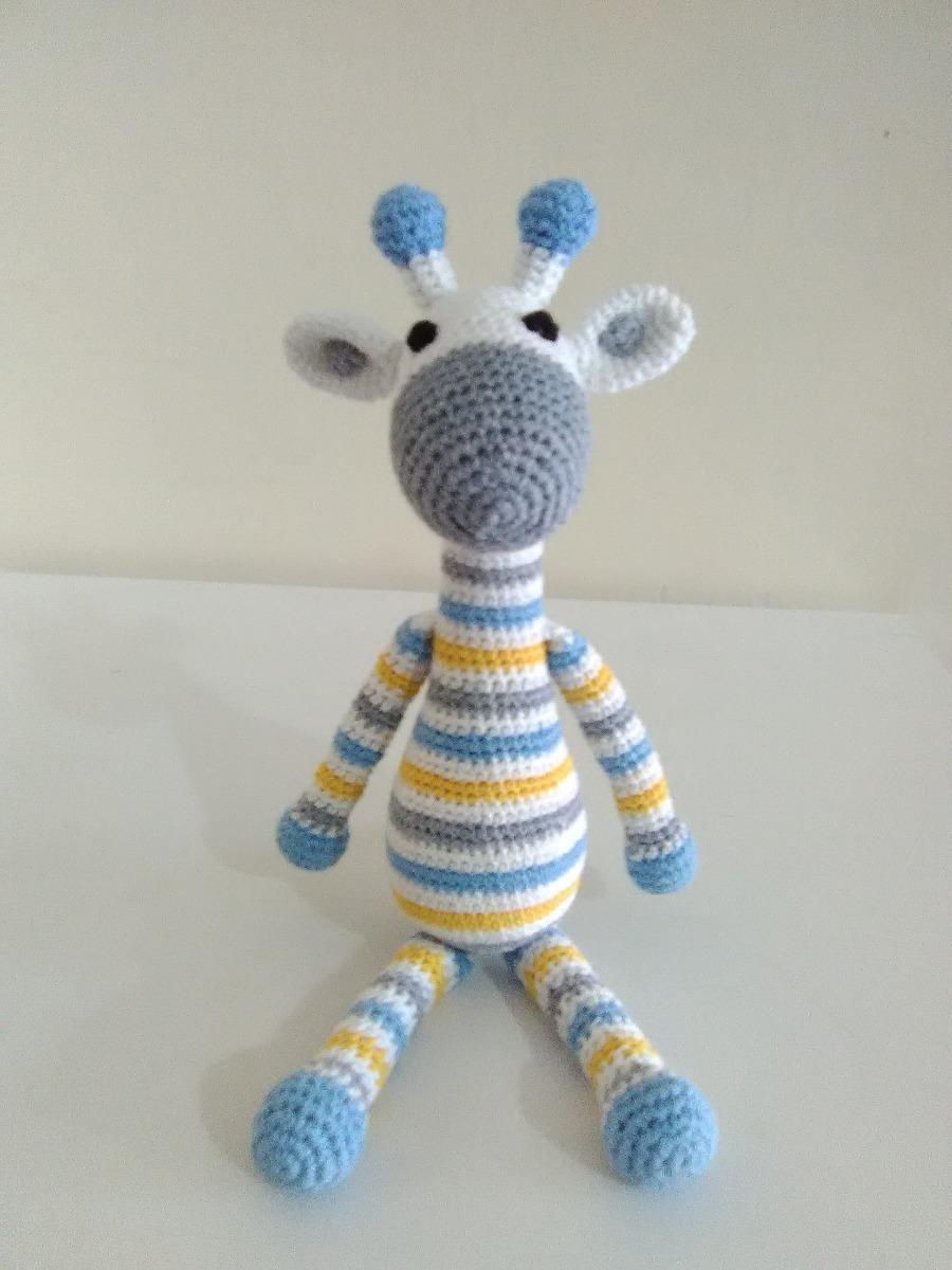Jirafa Tejido A Mano Crochet Amigurumi Divina!! Muñeco - $ 100,00 ...   1200x900