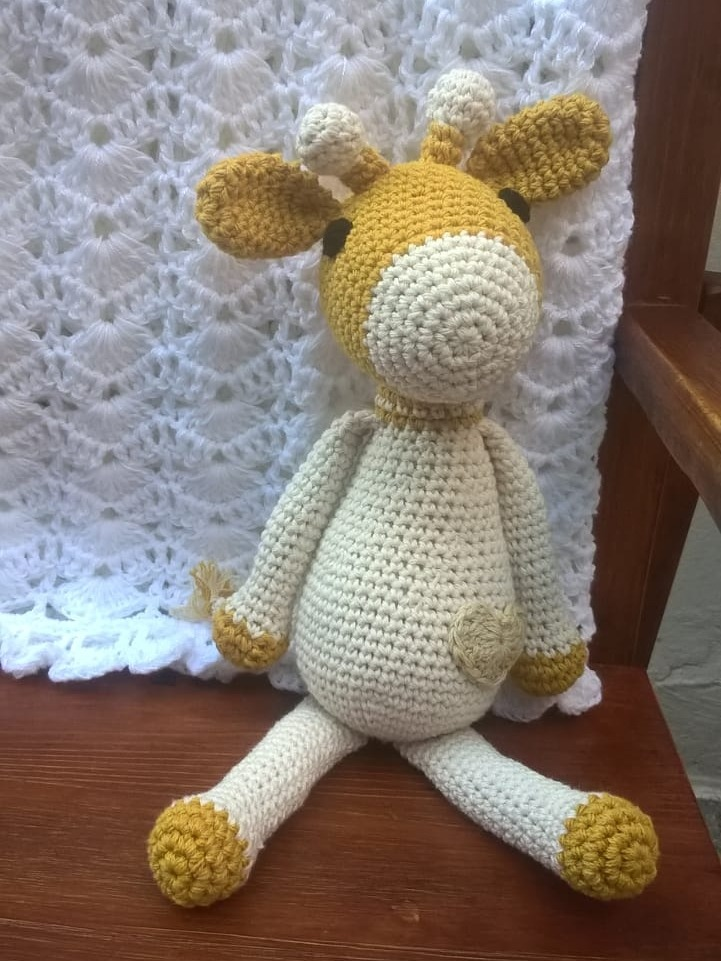 Jirafa amigurumi tutorial - YouTube | 961x721