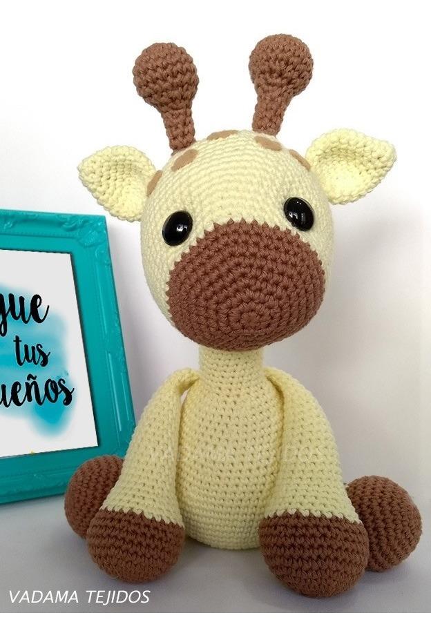 Amigurumi Crochet Pattern - Stanley the Giraffe | Jirafa amigurumi ... | 930x624