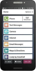 Jitterbug - Smart2 With 16gb Memory Cell Phone (unlocked) -