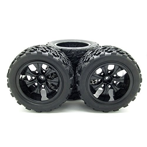 jiuwu 1:10 rc monster truck car rueda tipo ruedas con 7 !