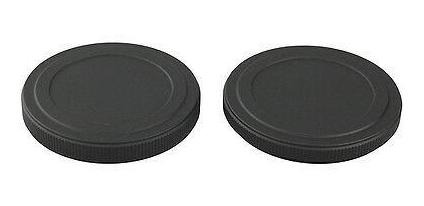 52 mm el tornillo en tapones de pila de filtro Filtro de Metal Negro caso calidad proteger Filtros