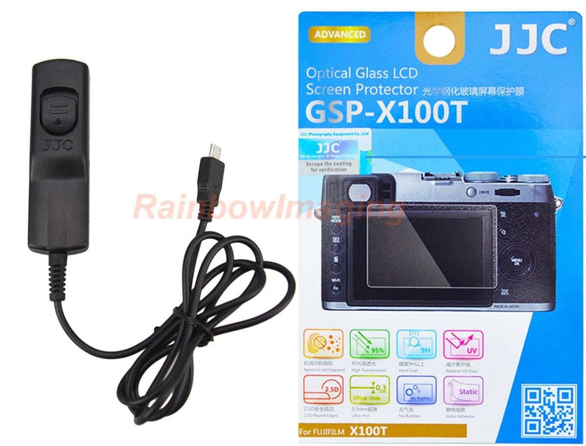 Jjc GSP-X100T protector de pantalla LCD de vidrio óptico Fujifilm X100T X-M1 X-A2 X-A1