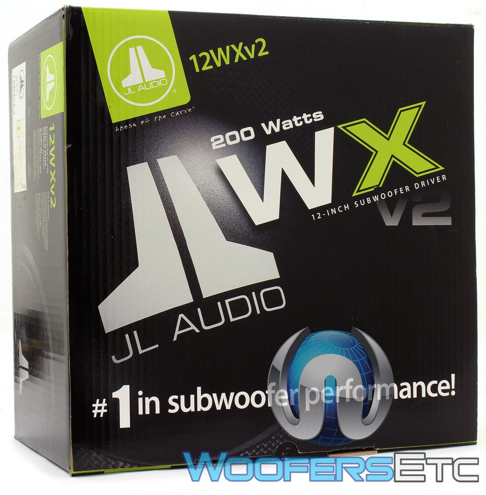 jl audio 10wxv2 4 sub 10 400w max coche 4 ohm subwoofer. Black Bedroom Furniture Sets. Home Design Ideas