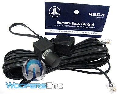 jl audio control bass rbc-1 para los amplificadores de