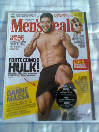 *jl revista men's health jogador hulk junho 2014 (lacrada)