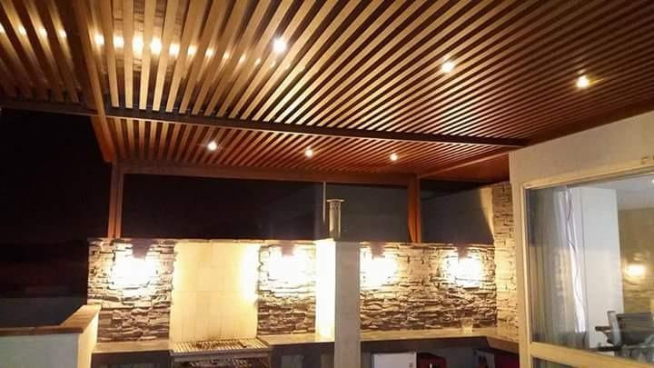 Techados de madera techos madera techo vigas de madera y - Techados para terrazas ...