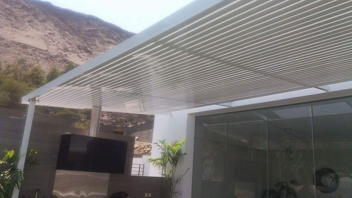 Terrazas de madera precios ideas de disenos - Techos de aluminio para terrazas ...