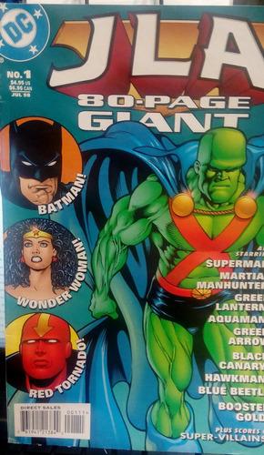 jla 80 page giant dc comics idioma ingles