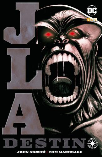 jla destino (otros mundos) - dc ecc comics - robot negro