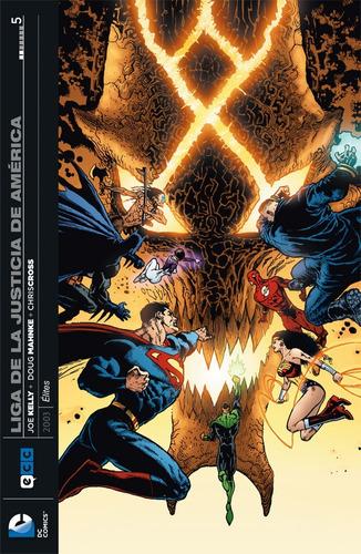 jla élites 01-07 (completo) - dc ecc comics - robot negro