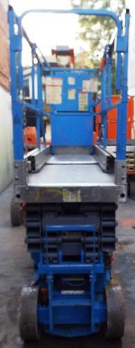 jlg 2630es plataforma tipo tijera de pasillo angosto
