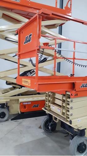 jlg tijera eléctrica - plataforma para trabajo en altura