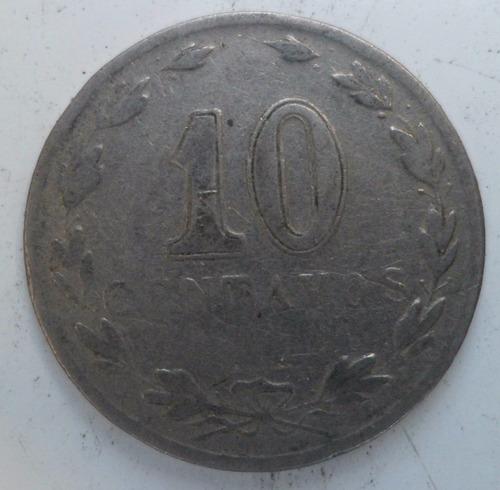 jm* argentina 10 centavos 1930