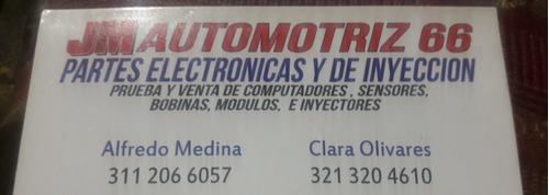 jm  automotriz 66 servicio electronico y fuel injection