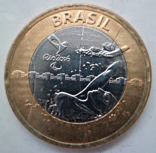 jm* brasil real juegos olimpicos natacion paralimpica - unc