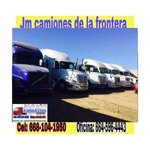 jm camiones de la frontera