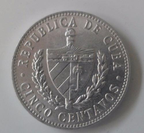 jm* cuba 5 centavos 1968 - unc