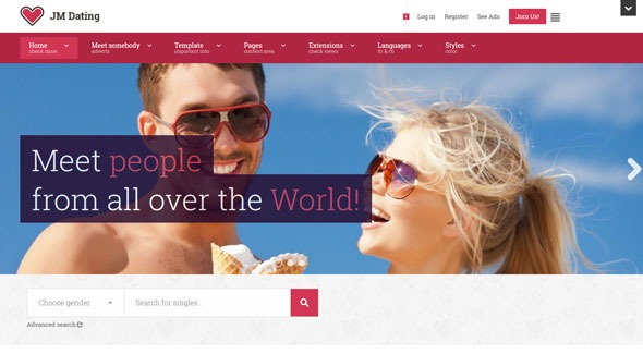 Dating site with joomla