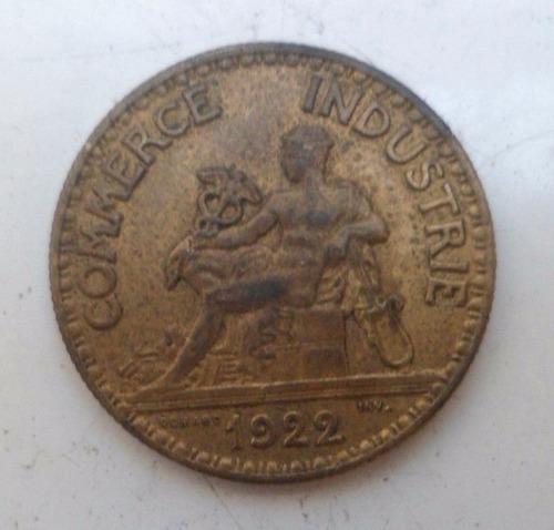 jm* francia 50 centimes 1922