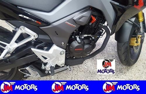 jm-motors honda cb190 negra edicion año 2017 0km inyección