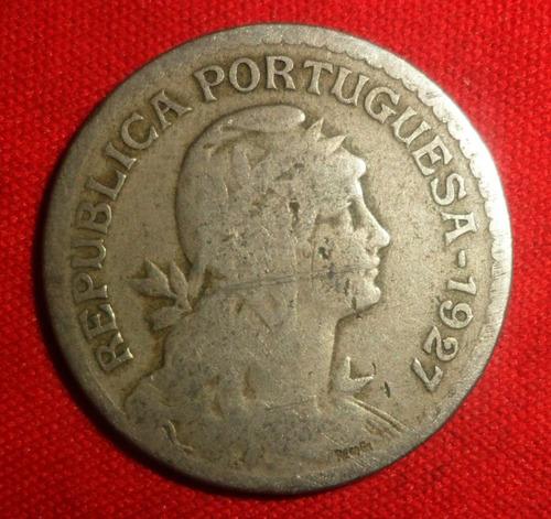 jm* portugal 1 escudo 1927 - f