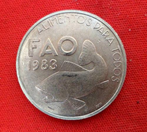 jm* portugal 25 escudos 1983 - fao - pez