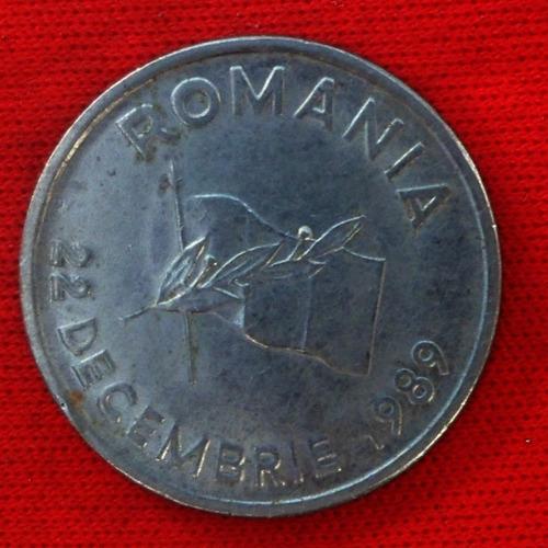 jm*  rumania 10 lei 1992 - conmemorativa