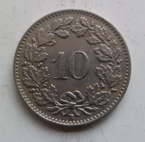 jm* suiza 10 rappen 1928 - unc