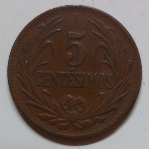 jm* uruguay 5 centesimos 1944