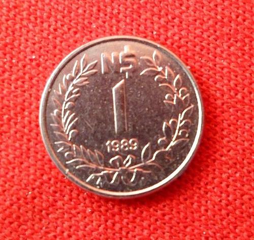 jm* uruguay nuevo peso 1989 - la mas pequeña