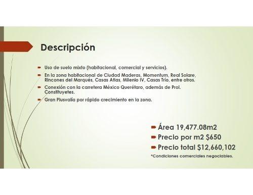 jm09-terreno  v20 mix ¿área 19,477.08m2 ¿precio por m2 $650