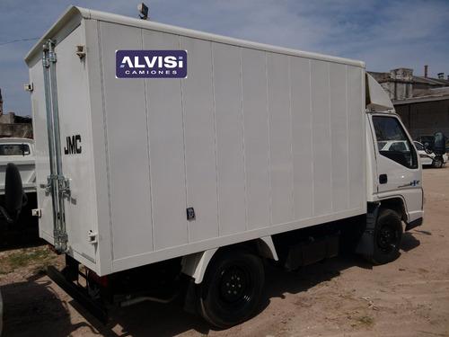 jmc camion full rueda sencilla furgón + iva