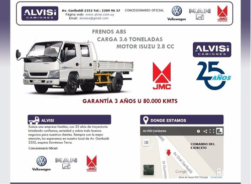jmc doble cabina precio especial hasta 22/03/18 + iva