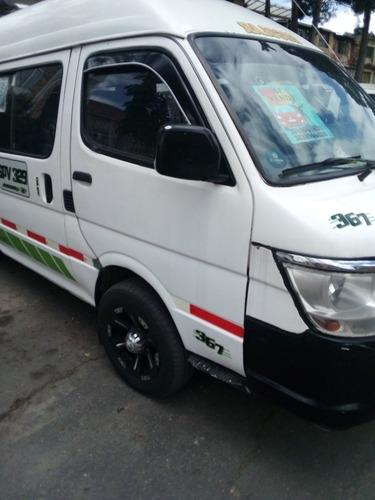 jmc microbus pasajeros