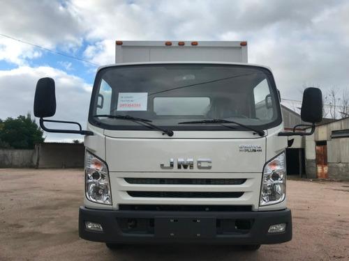 jmc n720 wide con furgon de isopanel