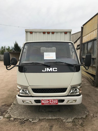 jmc nhr con furgon de fabrica ruedas simple